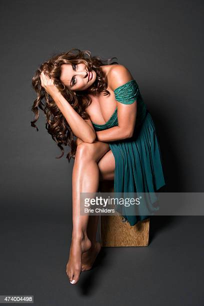 American beauty queen fashion designer and television personality Lizzie Rovsek is photographed for Self Assignment on August 27 2014 in Los Angeles...