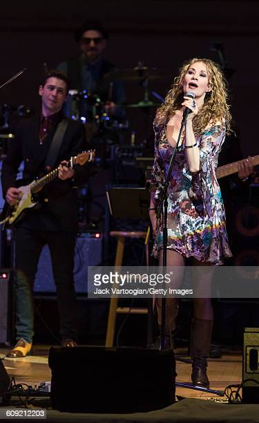 American Blues and Rock musician Dana Fuchs performs onstage during Lead Belly Fest at Carnegie Hall New York New York February 4 2016