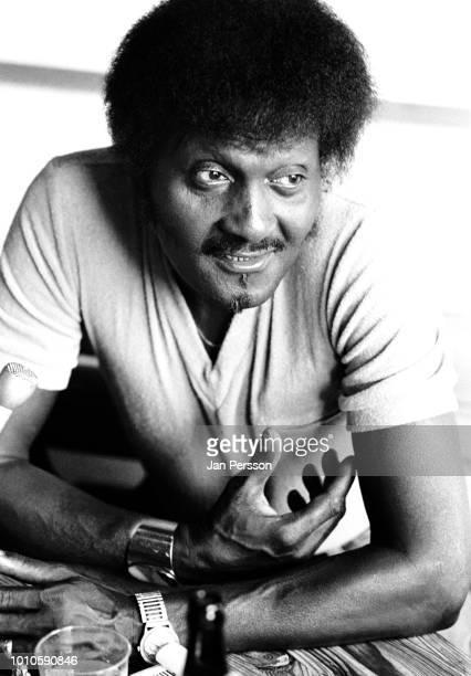American blues guitarist and singer Albert Collins Copenhagen August 1982