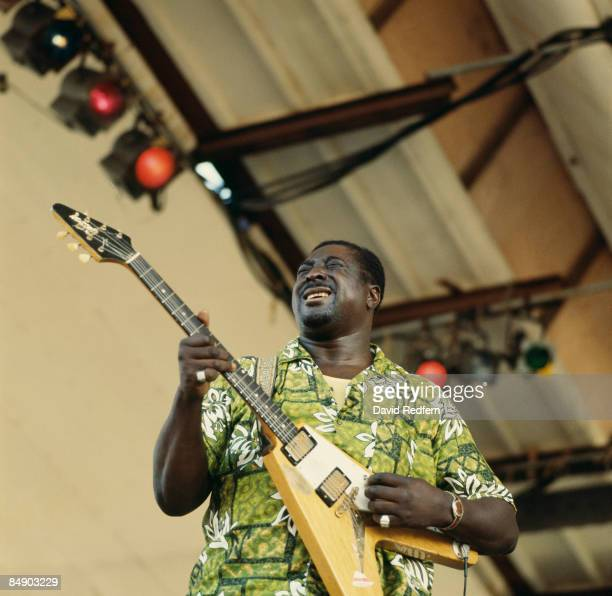 FESTIVAL Photo of Albert KING Albert King performing on stage
