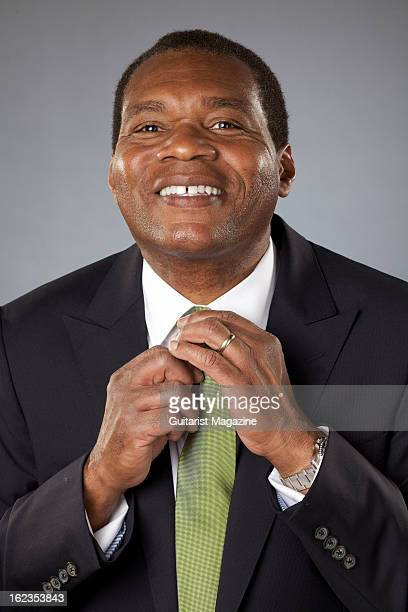 American blues guitarist and singer Robert Cray photographed during a portrait shoot for Guitarist Magazine June 26 2012