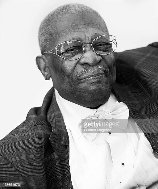 American blues guitarist BB King During a portrait shoot and interview for Guitarist Magazine/Future via Getty Images June 28 2011