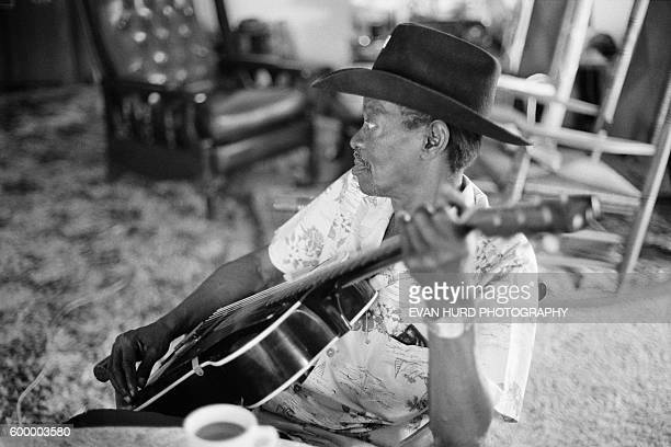 American blues musician Clarence Gatemouth Brown during the New Orleans Jazz Heritage Festival