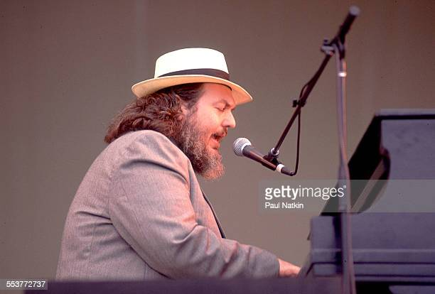 American Blues musician Dr John performs onstage, Chicago, Illinois, June 11, 1989.