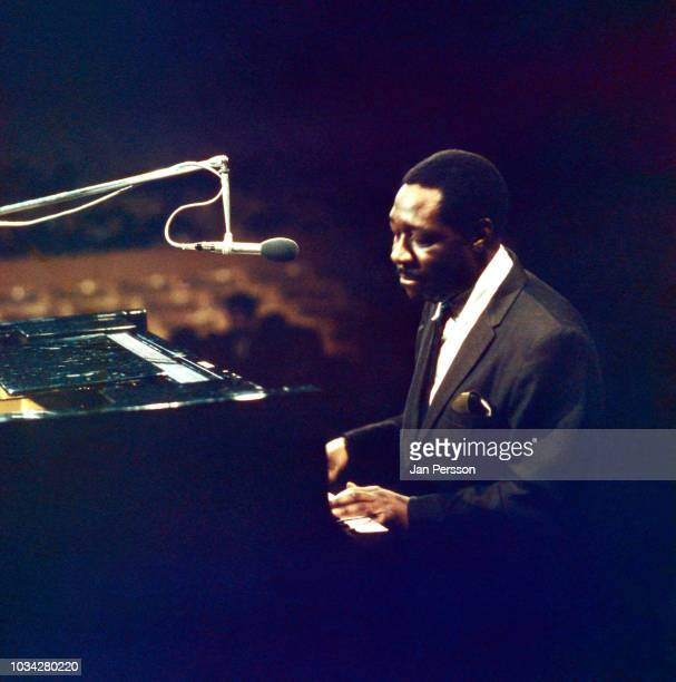 American blues pianist Otis Spann Copenhagen Denmark October 1968