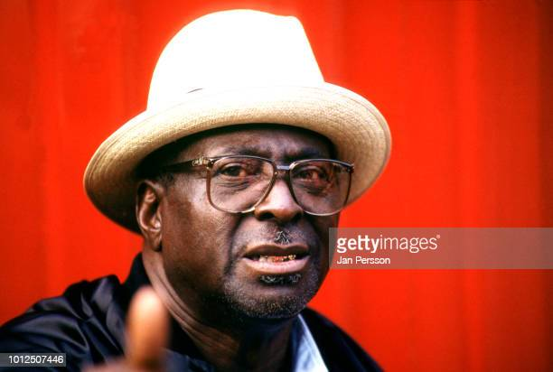 American blues singer and guitarist Albert King Copenhagen July 1992