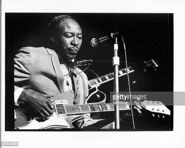 American blues singer and musician Jimmy Reed circa 1965