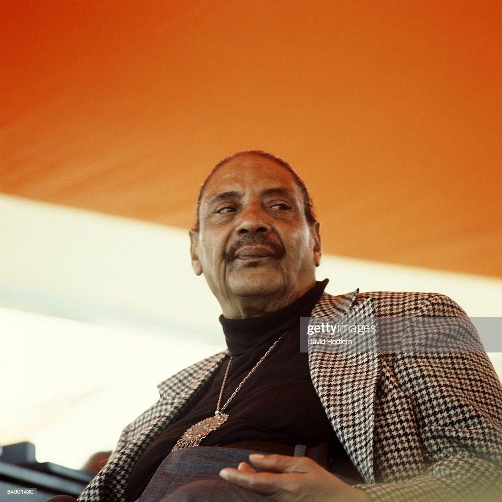 Big Joe Turner At 1983 New Orleans Jazz Festival : News Photo