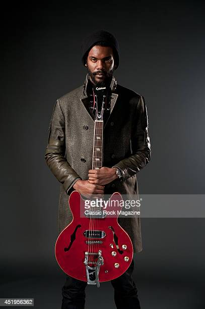 American bluesrock guitarist and vocalist Gary Clark Jr photographed during a portrait shoot for Classic Rock Magazine/Future via Getty Images...