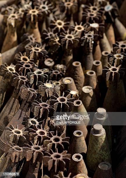 American bombs in Laos on April 19 2009