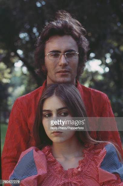 American born Italian actress Romina Power pictured with her husband Italian singer Albano Carrisi in Bari Italy in 1970