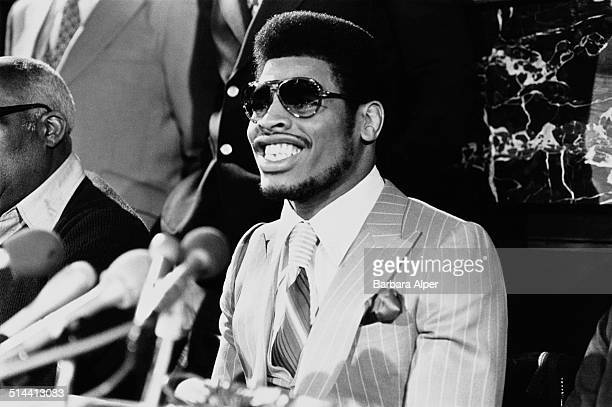 American boxer Leon Spinks Boston USA 22nd March 1978