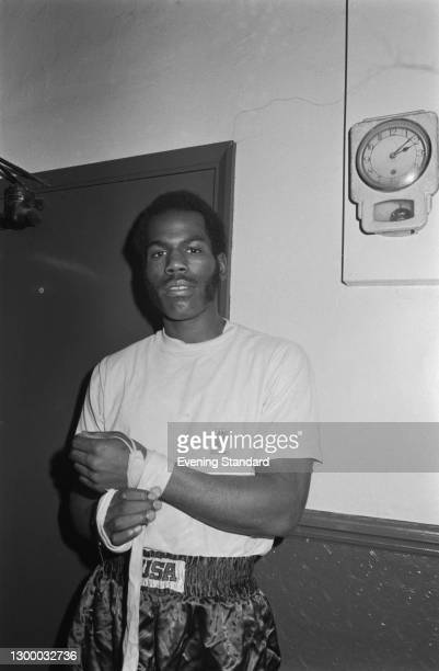 American boxer Marvin Johnson, light heavyweight and middleweight champion, UK, 3rd February 1972.