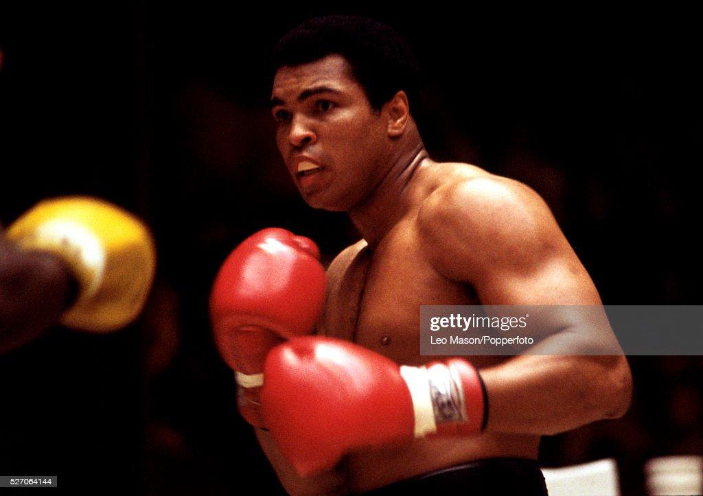 Muhammad Ali v Leon Spinks In New Orleans : News Photo