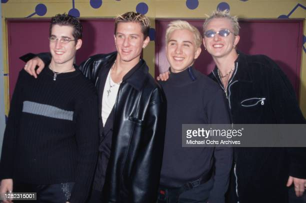 American boyband No Authority attend the 4th Annual YoungStar Awards, held at the Panasonic Theatre, Universal Studios in Universal City, California,...