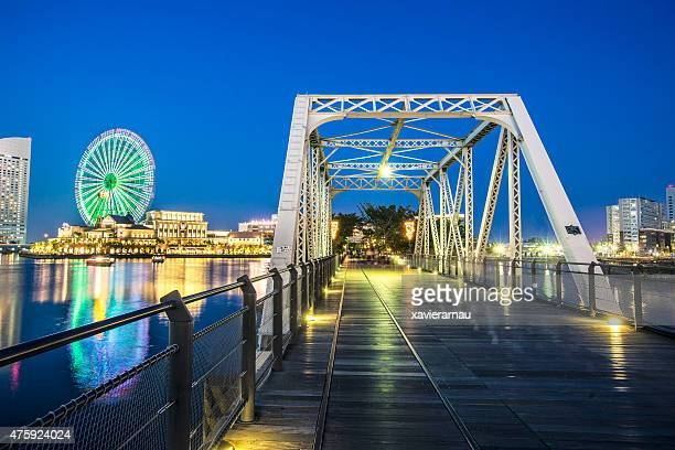 american bridge in yokohama - yokohama stock pictures, royalty-free photos & images