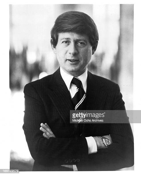 American broadcast journalist Ted Koppel poses for a portrait in circa 1980