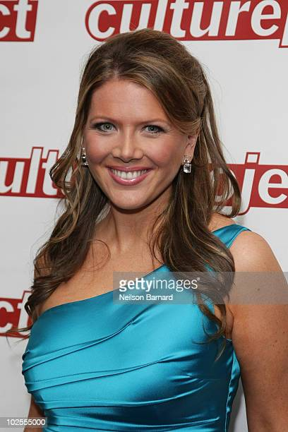 American broadcast journalist Trish Regan attends the special performance of Twin Spirits at Frederick P Rose Hall Jazz at Lincoln Center on June 30...