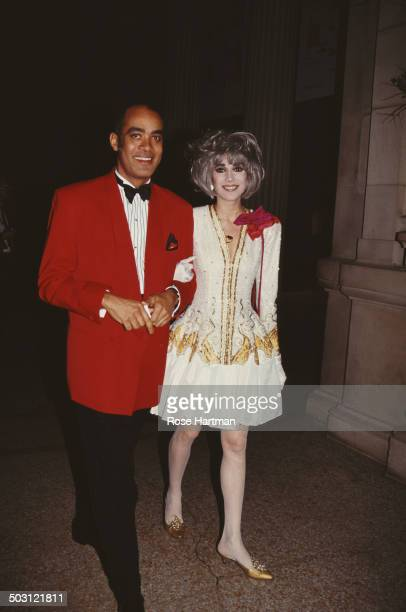 American broadcaster Lauren Ezersky attends the Met Gala at the Metropolitan Museum of Art New York City circa 1986