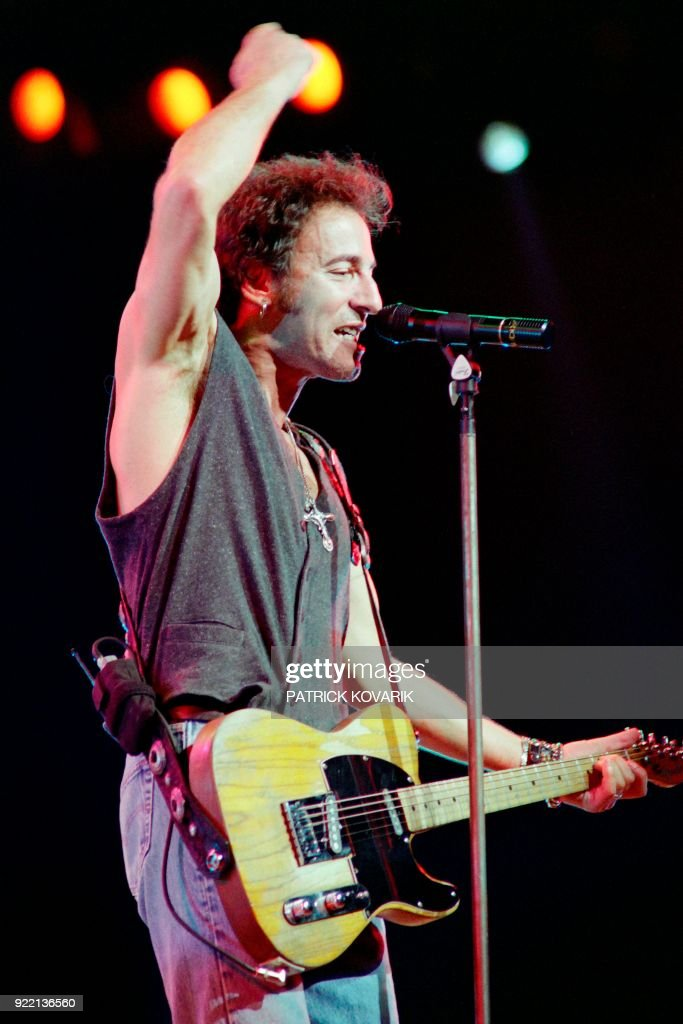 FRANCE-MUSIC-SPRINGSTEEN : News Photo