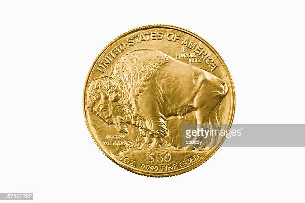 American Buffalo 24-karat gold bullion investment coin