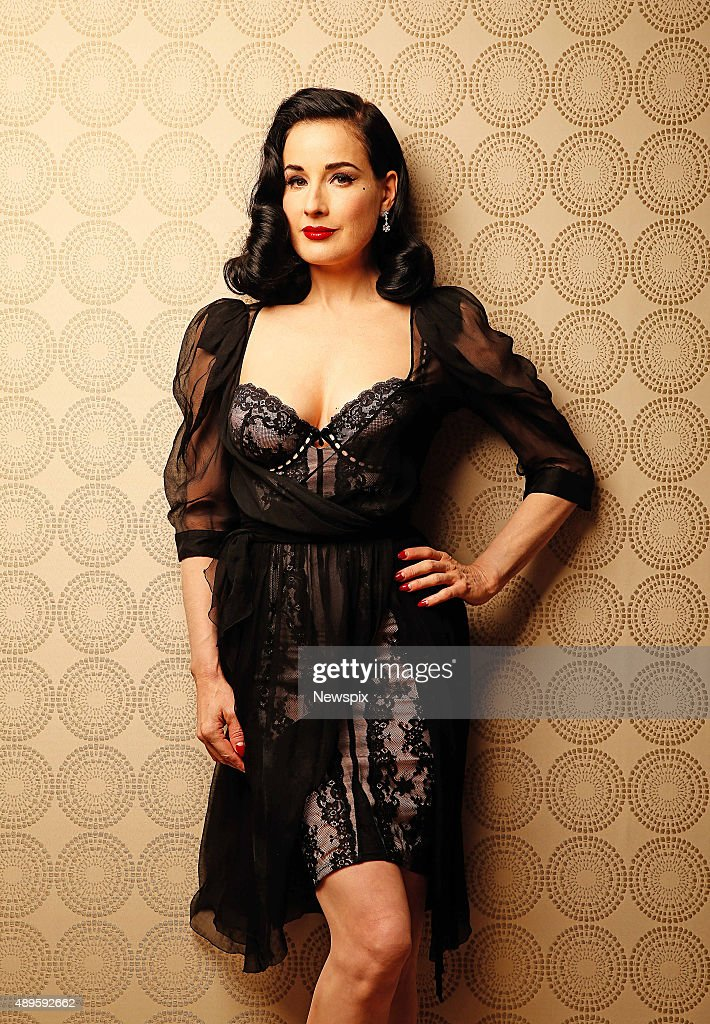 Dita Von Teese Melbourne Photo Shoot