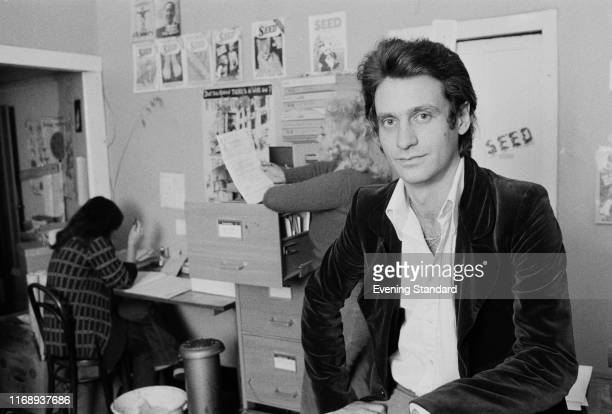 American businessman and author Craig Sams publisher of 'Seed the Journal of Organic Living' UK 15th September 1976