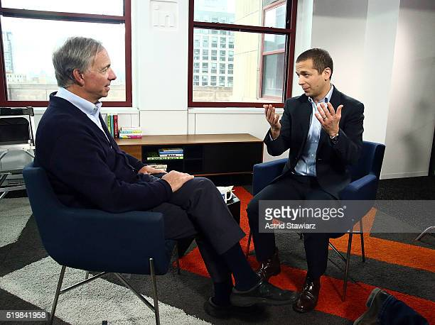 18 Ray Dalio Visits Linkedin For Interview With Daniel Roth Pictures