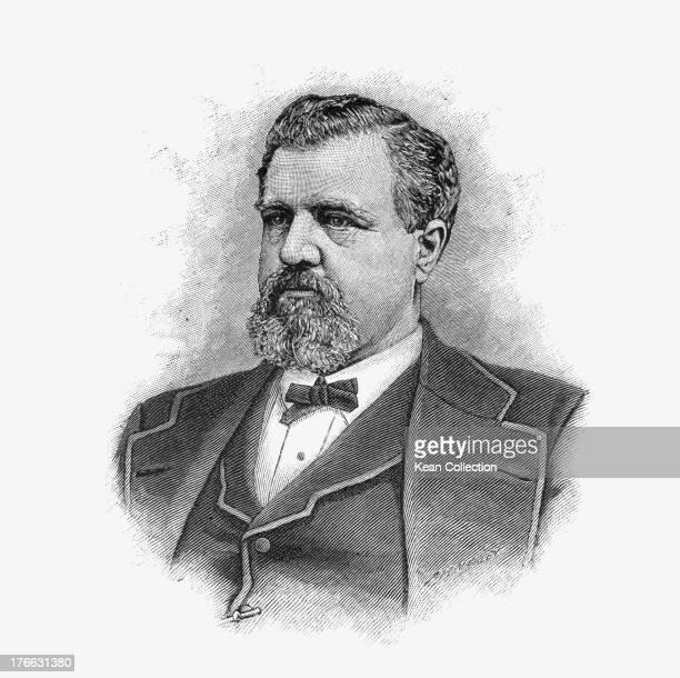 American businessman and mining entrepreneur James Clair Flood , circa 1880.