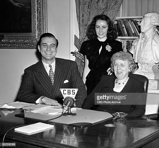 American businessman and son of an American president Franklin Delano Roosevelt Jr Britishborn teenaged actress Elizabeth Taylor and former First...