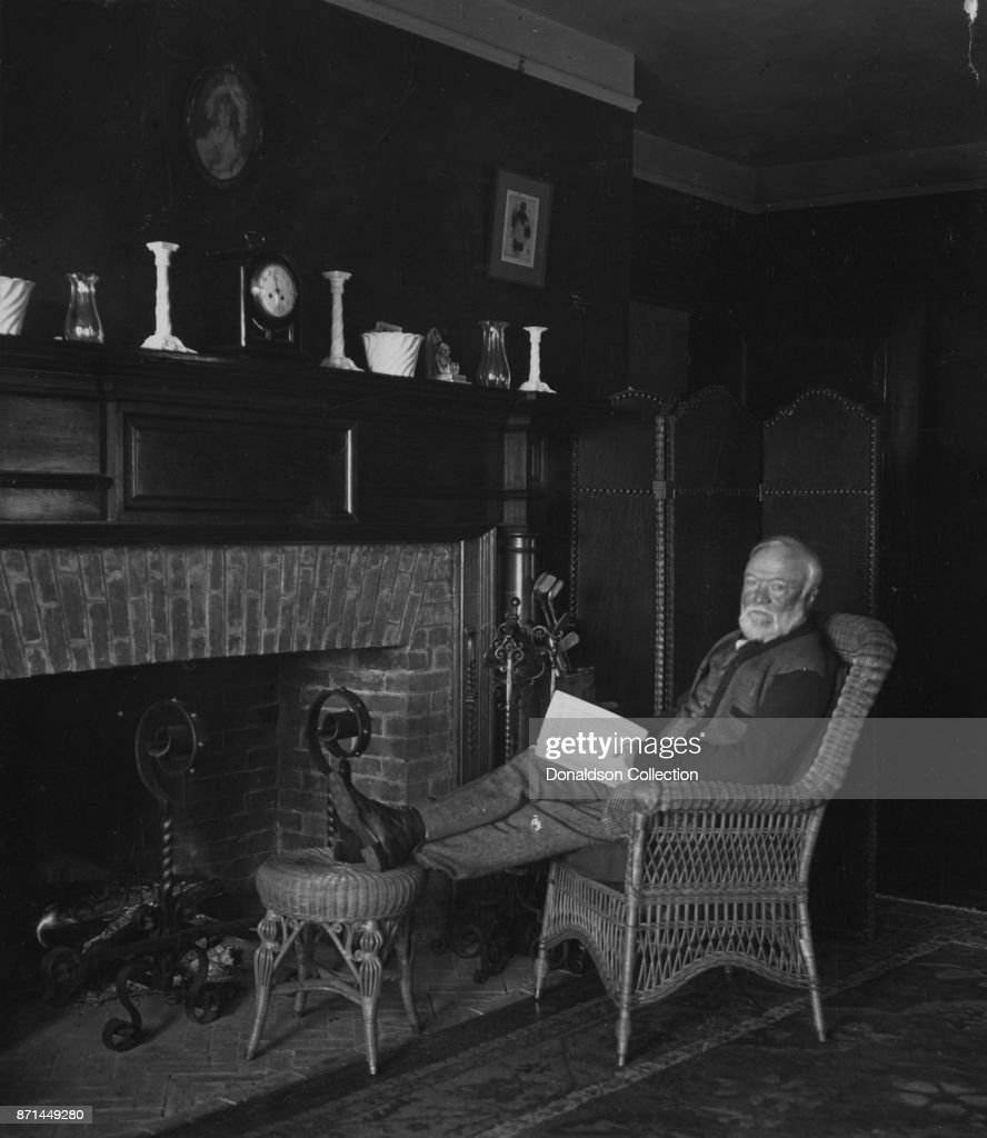 Andrew Carnegie Portrait : News Photo