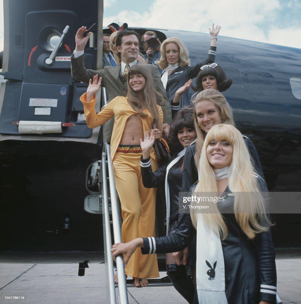 Hugh Hefner And Friends : News Photo