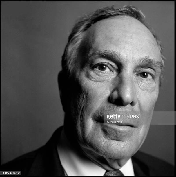 American businessman politician author and philanthropist Michael Bloomberg Mayor of New York City portrait session New York City US 4th October 2006