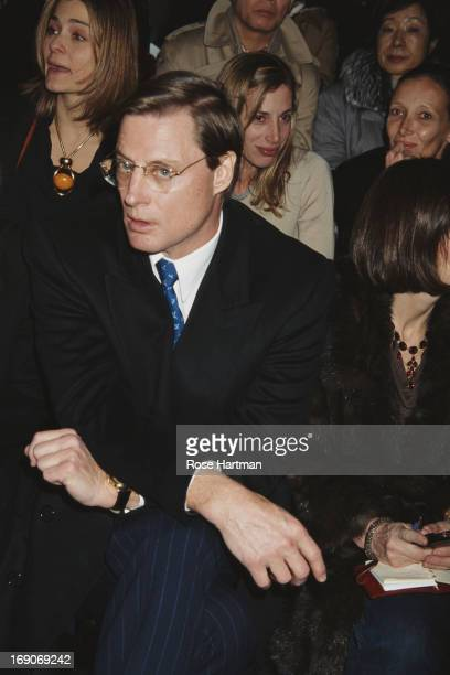 American businessman Shelby Bryan at the show for Marc Jacobs Fall 2002 Collection 2002