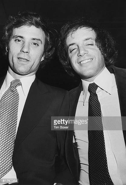 American businessmen Ian Schrager and Steve Rubell owners of the Studio 54 disco in New York City 10th May 1977
