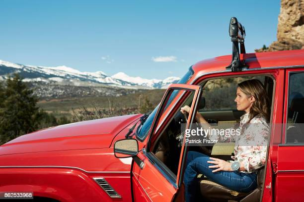 American businesswoman Aerin Lauder is photographed for How to Spend It on June 15 2016 in Aspen Colorado