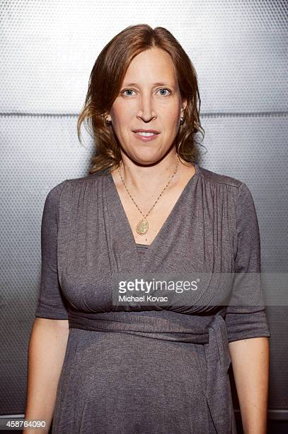 American businesswoman and CEO of YouTube Susan Wojcicki is photographed at the Vanity Fair New Establishment Summit on October 8 2014 in San...