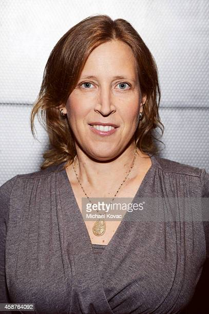 American businesswoman and CEO of YouTube, Susan Wojcicki is photographed at the Vanity Fair New Establishment Summit on October 8, 2014 in San...