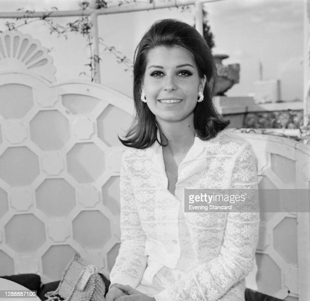 American businesswoman Tina Sinatra, the daughter of Frank Sinatra and his first wife, Nancy Barbato Sinatra, UK, 11th May 1967.