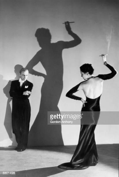 American cabaret dancers Wes Adams and Lisa