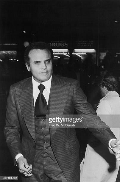 American Calypso singer and Civil Rights activist Harry Belafonte New York New York October 10 1975