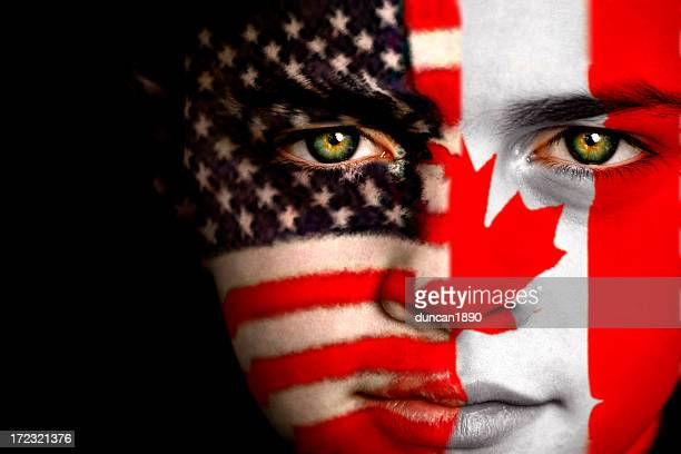 American Canadian boy