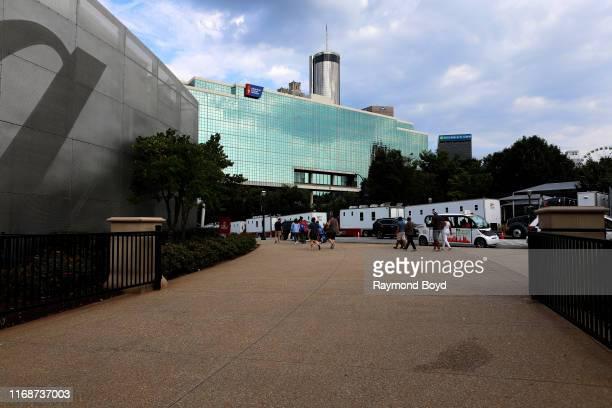 American Cancer Society in Atlanta, Georgia on July 28, 2019.