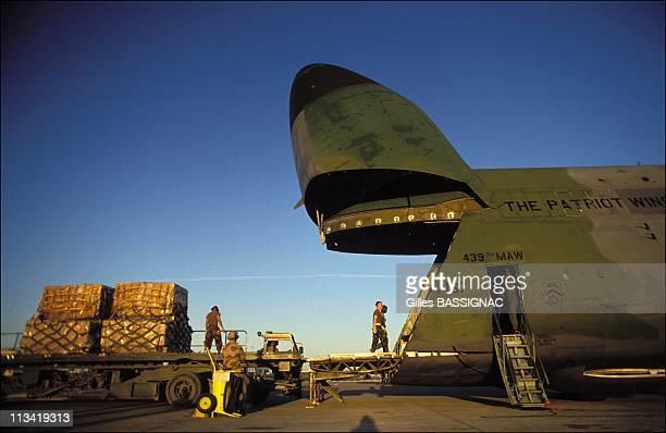 American Cargo Aircraft 'Galaxy' On November 20Th1990