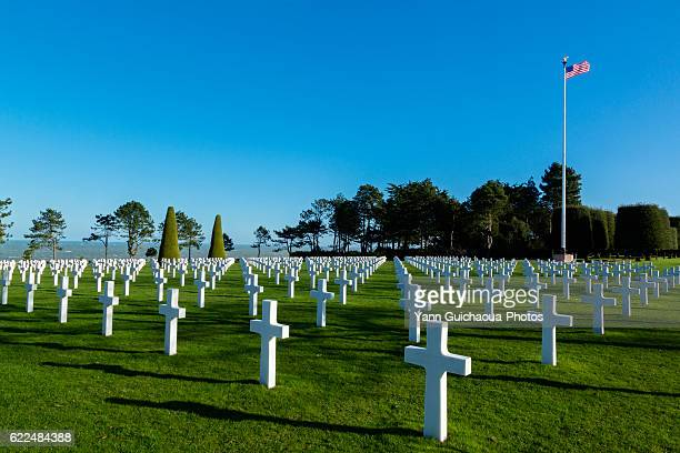 American Cemetery At Colleville Sur Mer, Normandy, France