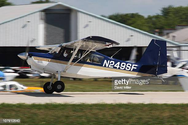 American Champion Aircraft Scout taken at Airventure 2009 Oshkosh Wisconsin Runway 9/27