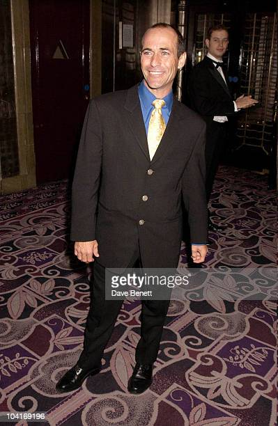 American Champion Jockey Gary Stevens Seabiscuit Movie Premiere At Warner West End And After Party At Tthe Ballroom At Park Lane Hotel In London