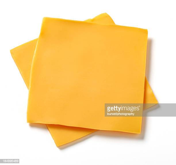 american cheese slices - cheese stock pictures, royalty-free photos & images
