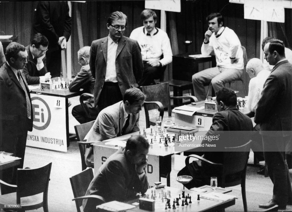 Chess Match Of The Century : News Photo