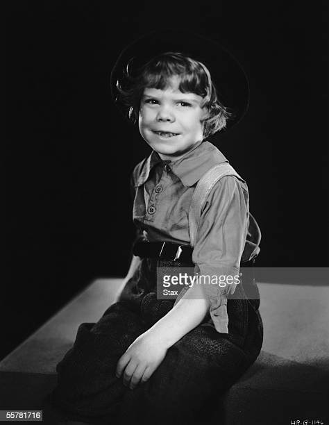 American child actor Tommy Bond famous as Butch in Hal Roach's 'Our Gang' comedies circa 1935